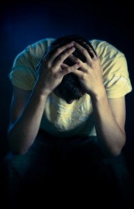 young man mental health, source: shutterstock