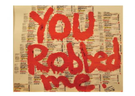 You Robbed Me - Jessica L.